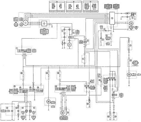 kodiak yfm400fwa atv 4wd wiring diagrams weeks motorycle