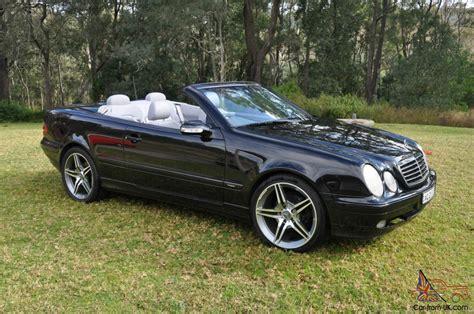 mercedes nsw mercedes clk430 avantgarde 2001 v8 auto convertible in in