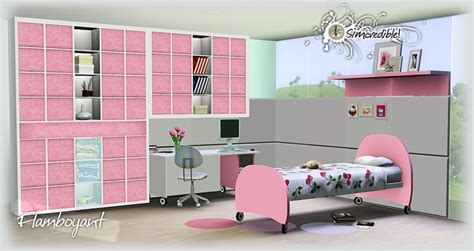 sims 3 bedroom ideas my sims 3 blog flamboyant bedroom set by simcredible designs
