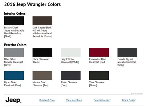 Jeep Paint Colors 2017 Grand Features Changes Page 49 Jeep