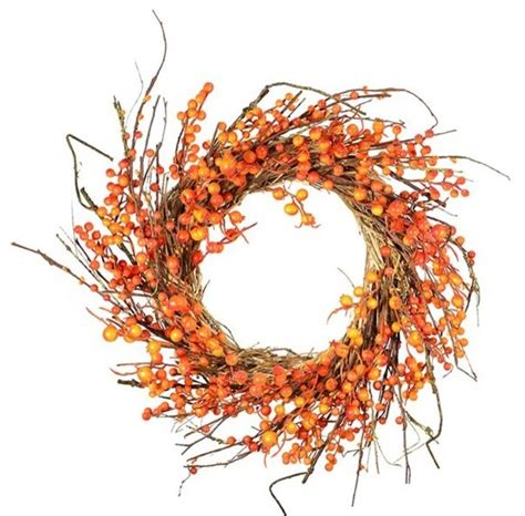 wreaths and garlands fall berry wreath 25 quot wreaths and garlands by