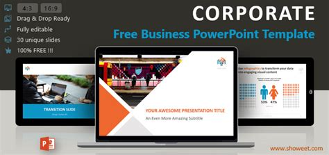 Corporate Business Powerpoint Template Corporate Powerpoint Templates Free