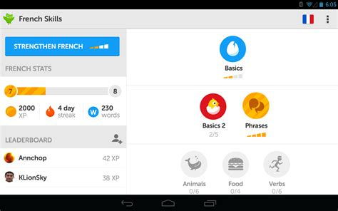 duolingo android duolingo android app updated to 2 0 with an updated ui and a slimmed install size
