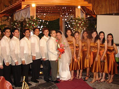 filipino wedding traditions hodgepodge culture manila