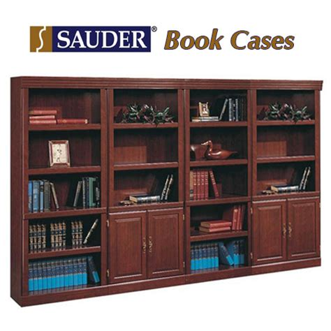 sauder heritage hill open bookcase sauder 174 bookcases heritage hill collection in cherry