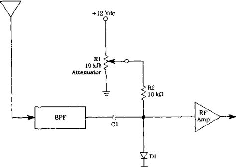 diode attenuator schematic pin diode applications circuit design raynet repair services