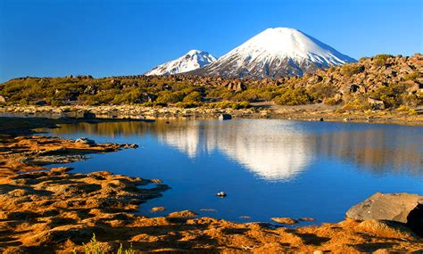 imagenes bonitas de paisajes grandes lago chungara paisajes de chile paisajes pinterest