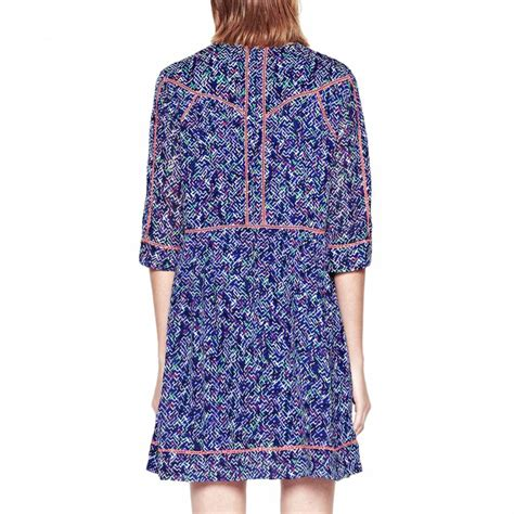 grid pattern dress blue confetti grid pattern dress brandalley