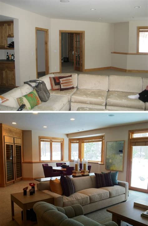 before and after decor gunkelmans interior design before and after