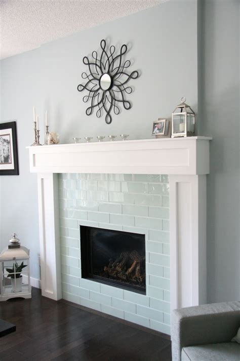 best 25 subway tile fireplace ideas on marble