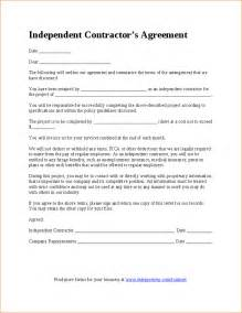 Simple Independent Contractor Agreement Template 7 simple independent contractor agreement timeline template