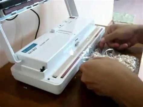 Mesin Vacuum Sealer Mini cara menggunakan mini vacum sealer tristar machinary