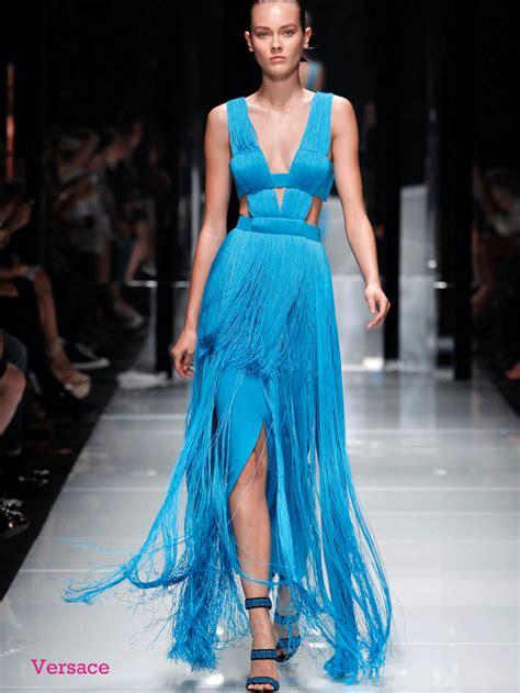 So Longdress Versace blue picks