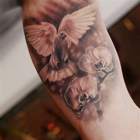 Spiritual Tattoos Symbols Meaning And Design Ideas Dove Bird Tattoos