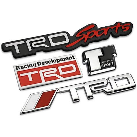 Emblem Logo Trd Kecil compare prices on black toyota emblems shopping buy low price black toyota emblems at