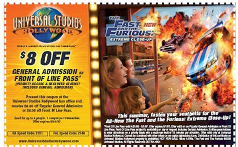 printable universal studios tickets theme park deals and discounts universal studios