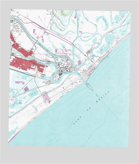 map freeport texas freeport tx topographic map topoquest