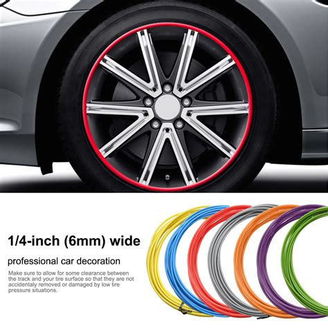 Stiker Autobahn Wheel Company wheel trim protector sticker self adhesived for 4 wheels decal 163 14 14 picclick uk