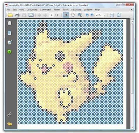 perler bead pattern generator perler bead pattern generator turn any image into