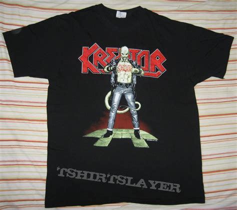 T Shirt Kreator 1 by Kreator Quot Terrible Certainty Quot 1991 Official T Shirt