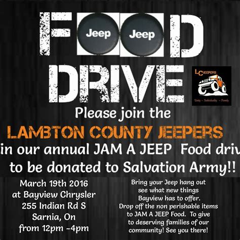 Jam Jeep Time blackburnnews jam a jeep for the salvation army