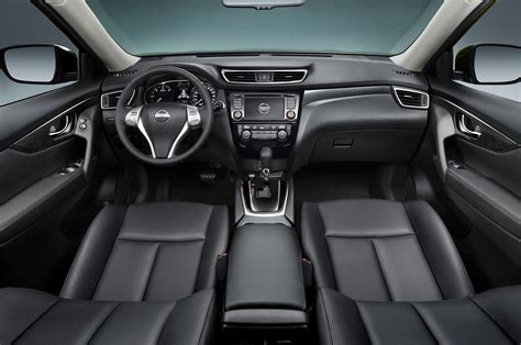 nissan rogue interior revealed 2014 nissan rogue to offer third row seats
