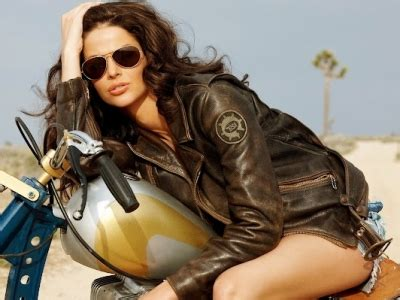 hairstyles for woman who ride a motorcycle laura