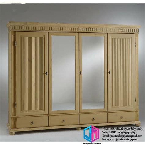 Lemari Pakaian 4 Pintu lemari pakaian jati minimalis 4 pintu jual meubel jual