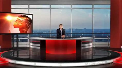 tricaster virtual set studio  multi angle virtual