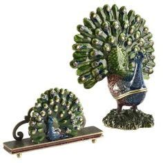 Office Desk On Pinterest Desk Accessories Turquoise Peacock Desk Accessories