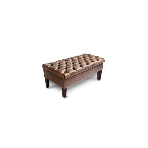 deep storage bench seville storage deep buttoned storage bench footstools