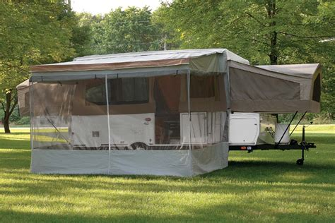 rv awning screens screen room for trim line awning popupportal