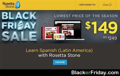 Rosetta Stone Black Friday 2016 | rosetta stone black friday 2017 sale deals blacker friday
