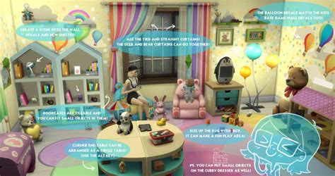 lilmissdolly tips on decorating in sims 4 the sims 4 toddlers room decor tips by simgurukimmi