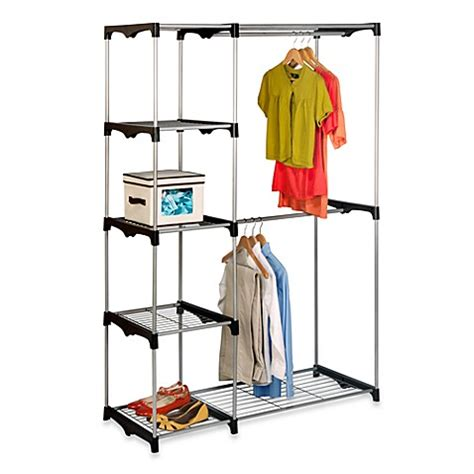 Bed Bath And Beyond Closet Organizer by Honey Can Do 174 68 Inch Steel Freestanding Wardrobe Closet