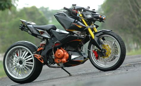 satria fu modifikasi galeri modifikasi