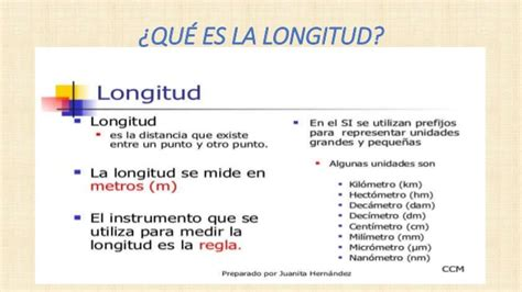 medidas longitud unidades de medida de longitud