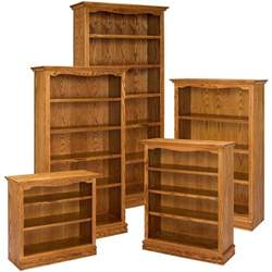 15 inspirations of solid oak bookcase