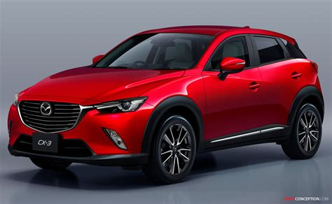 mazda new cx 3 crossover will form of next