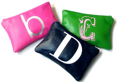 Initial Bag Free 6 Initial initial personalized leather change purse monogram coin purse