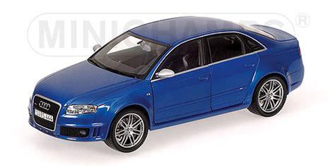 Minichamps: 2006 Audi RS4 Blue Metallic (100 014600) im 1:18 maßstab mDiecast
