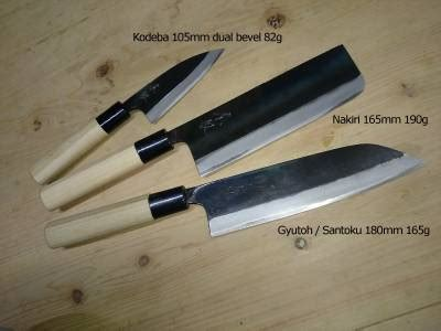 pro kitchen knives japanese namonme nakiri black hammer forged thick pro