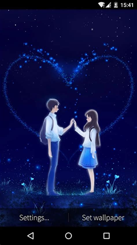 love couple hd live wallpaper love and heart pour android 224 t 233 l 233 charger gratuitement
