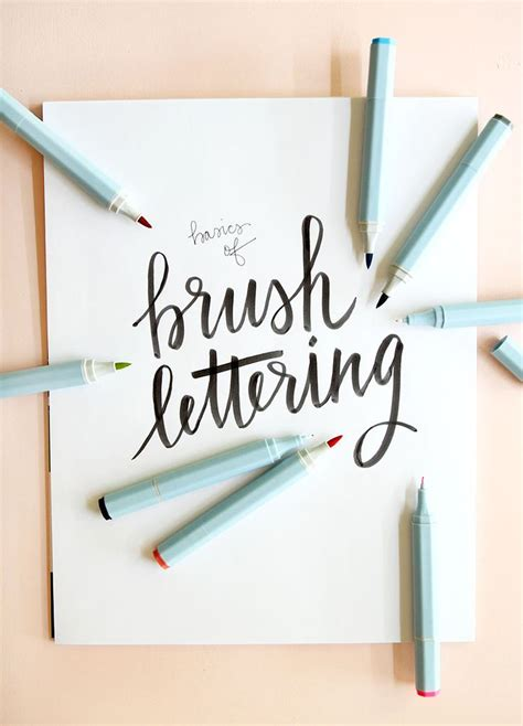 lettering tutorial book 920 best brush lettering hand lettering pointed pen