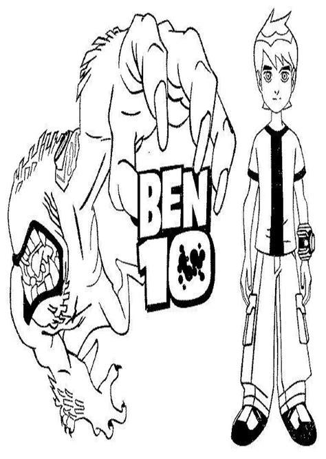 Dibujos para colorear Ben 10 - Dibujosparacolorear.eu