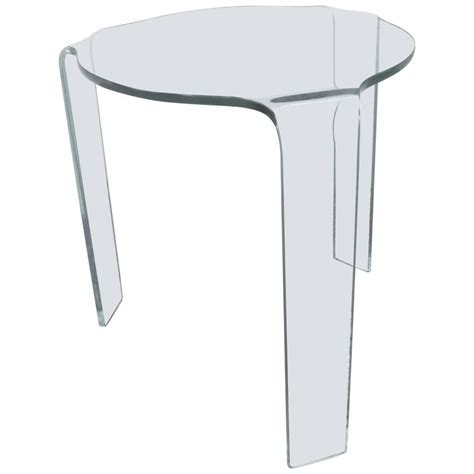 molded tables sale fiam molded glass table for sale at 1stdibs
