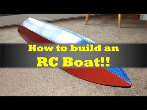 How To Make A Paper Motor Boat - mrrcfanatik how to build an rc boat