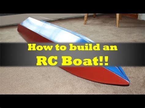 mrrcfanatik   build  rc boat youtube