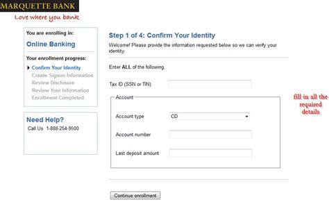 marquette bank  banking login login bank