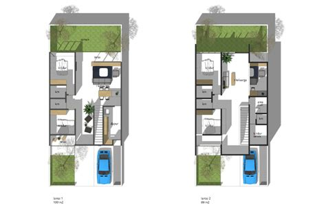 denah rumah minimalis  kamar tidur rs karya plat architect sumber arsitagcom